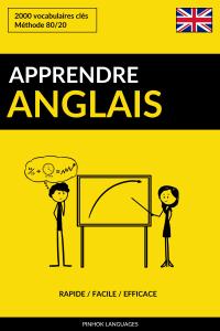 Apprendre l'anglais: Rapide / Facile / Efficace: 2000 vocabulaires clés La couverture du livre martien