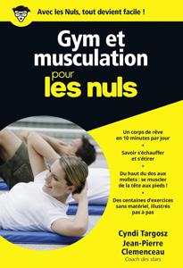 Gym et musculation pour les Nuls La couverture du livre martien