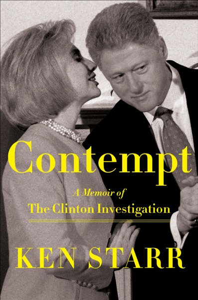 Contempt - Ken Starr book cover