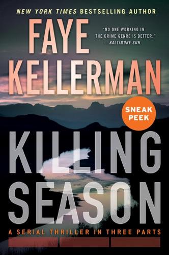 Faye Kellerman - Killing Season Sneak Peek