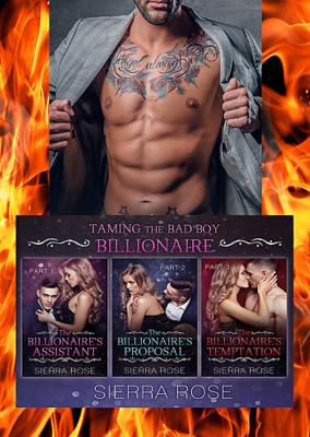 Taming The Bad Boy Billionaire Three Book Bundle - Sierra Rose book