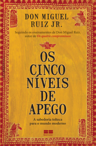 Os cinco níveis de apego Book Cover