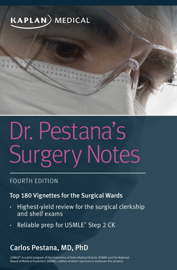 Dr. Pestana's Surgery Notes book