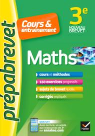 Maths 3e - Prépabrevet Cours & entraînement