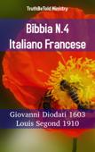 Bibbia N.4 Italiano Francese Book Cover