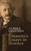 Einstein's Essays in Science Book Cover