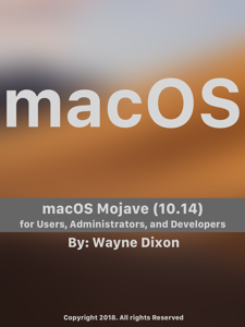 macOS Mojave for Users, Administrators, and Developers Cover Book