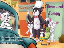 Kids Book: Oliver And Jumpy - The Cat Series, Stories 49-51, Book 17