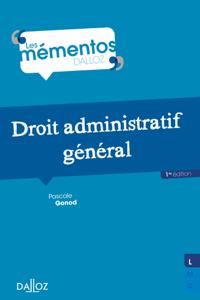 Droit administratif général La couverture du livre martien