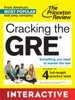 Cracking the GRE: Interactive  Prep & Review for the GRE Exam