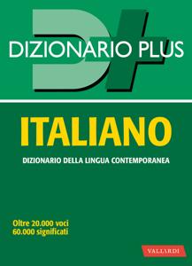Dizionario italiano plus Libro Cover