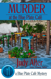 Murder at the Blue Plate Cafe book