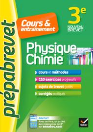 Physique-chimie 3e - Prépabrevet Cours & entraînement