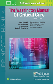 The Washington Manual of Critical Care