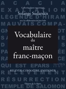 Vocabulaire du maître franc-maçon La couverture du livre martien