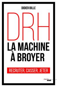 DRH, la machine à broyer La couverture du livre martien
