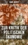 Zur Kritik Der Politischen Konomie