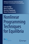Nonlinear Programming Techniques For Equilibria