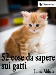 52 cose da sapere sui gatti Copertina del libro