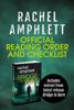 Rachel Amphlett - Rachel Amphlett Reading Order and Checklist artwork