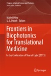 Frontiers In Biophotonics For Translational Medicine