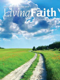 Living Faith July, August, September 2018 book