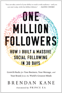 One Million Followers Libro Cover