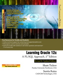 Learning Oracle 12c: A PL/SQL Approach - Prof Sham Tickoo