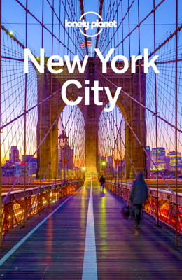New York City Travel Guide - Lonely Planet book