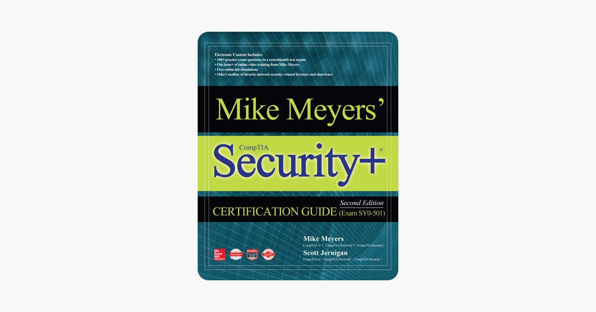 ‎Mike Meyers' CompTIA Security+ Certification Guide, Second Edition (Exam  SY0-501)