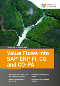 Value Flows into SAP ERP FI, CO, and CO-PA Libro Cover
