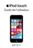 Apple Inc. - Guide de l'utilisateur de l'iPod touch pour iOS 12.1.1 Grafik