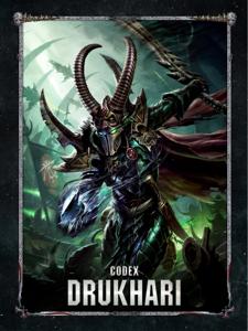 Codex: Drukhari Cover Book
