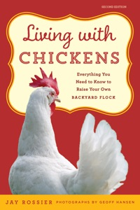 Living with Chickens Book Cover