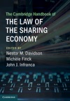 The Cambridge Handbook Of The Law Of The Sharing Economy