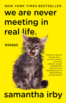We Are Never Meeting in Real Life. - Samantha Irby book