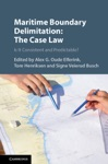 Maritime Boundary Delimitation The Case Law