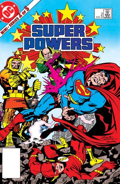 Super Powers 1984 2 By Jack Kirby Joey Cavalieri Adrian