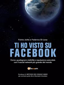 Ti ho visto su Facebook Copertina del libro