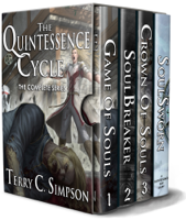 Terry C. Simpson - The Quintessence Cycle artwork