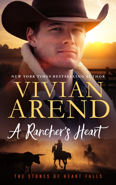 A Rancher's Heart - Vivian Arend book cover