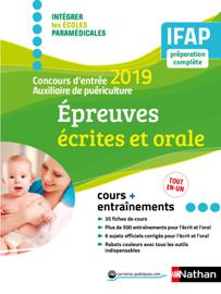 Concours Auxiliaire de puériculture - 2019