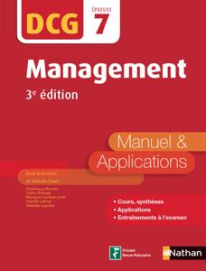Management - DCG 7 - Manuel et applications La couverture du livre martien