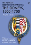 The Ashgate Research Companion To The Sidneys 15001700