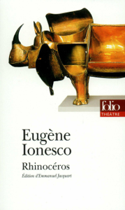 Rhinocéros La couverture du livre martien