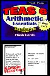 TEAS V Test Prep Arithmetic Essentials--Exambusters Flash Cards--Workbook 1 Of 5