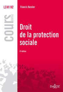 Droit de la protection sociale La couverture du livre martien