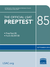 The Official LSAT PrepTest 85