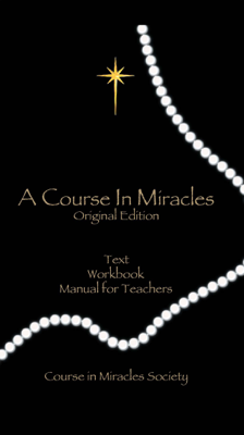 A Course In Miracles - Anonymous book