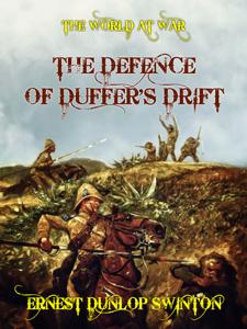 The Defence of Duffer's Drift Copertina del libro